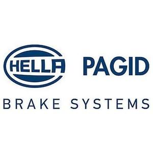 【要 適合確認】低ダスト HELLA PAGID シルベラミック ブレーキ パッド フロント メルセデスベンツ Eクラス ワゴン(W212) 212226C用 T1897J