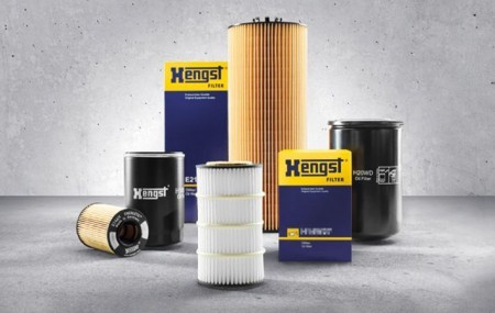 HENGST オイルフィルター メルセデスベンツ Sクラス(W221) 221171用 E11H02D155