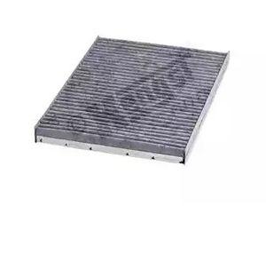 【要 適合確認】HENGST エアコンフィルター フォルクスワーゲン POLO (6N) 6NARC用 E900LC