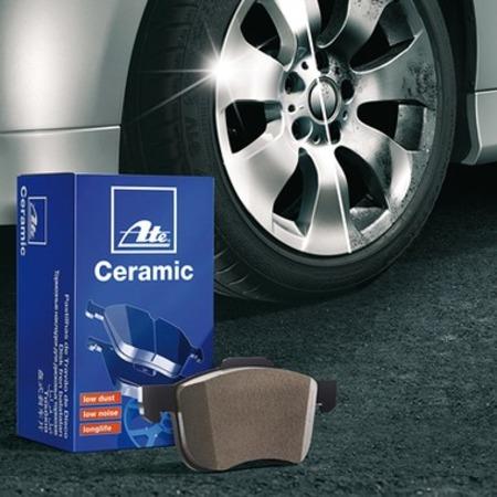 ATE セラミック ブレーキ パッド フロント BMW  5 シリーズ(E60) NU25用 ATELD7176